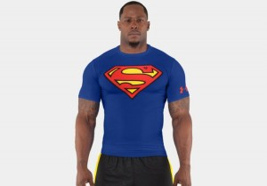 Superman Men Alter Ego Compression Shirt By Under Armour